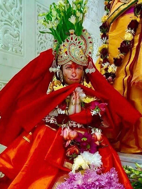 Sri Anjaneya Sahasranama Pooja