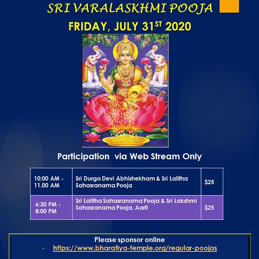 SRI Varalakshmi Pooja