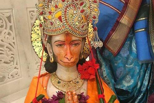 1 Month Hanuman Abhishek/Puja on Tuesdays