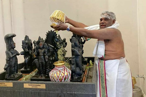 Sunday - Navagraha Abhishekam, Navagraha Puja