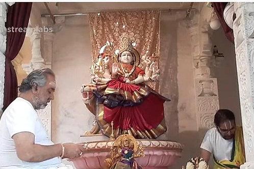 Navaratri Devi Abhishekam & Lalitha Sahasranama Puja- Sat or Sun