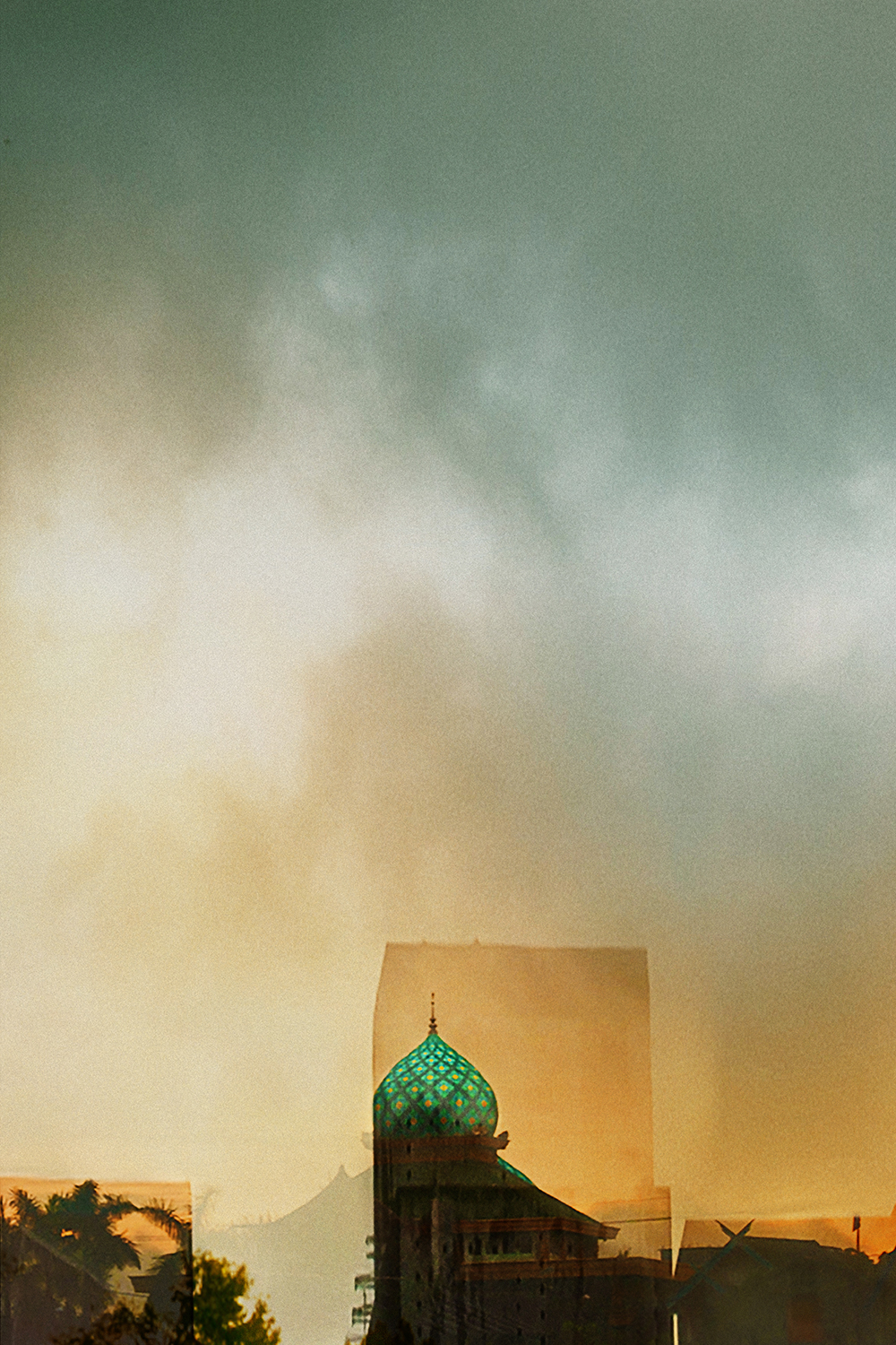 Morning Mosque