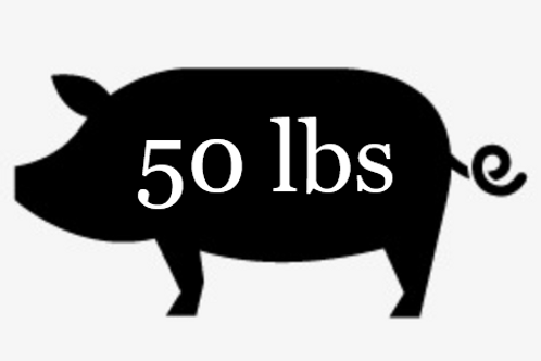 SOLD OUT - 50 lbs Pork Bundle