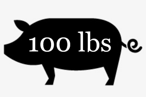 OUT OF STOCK - 100 lbs Pork Bundle