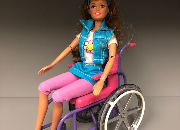 Share a Smile Becky Barbie Doll