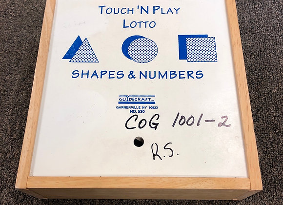 Touch N Play Lotto Shapes & Numbers