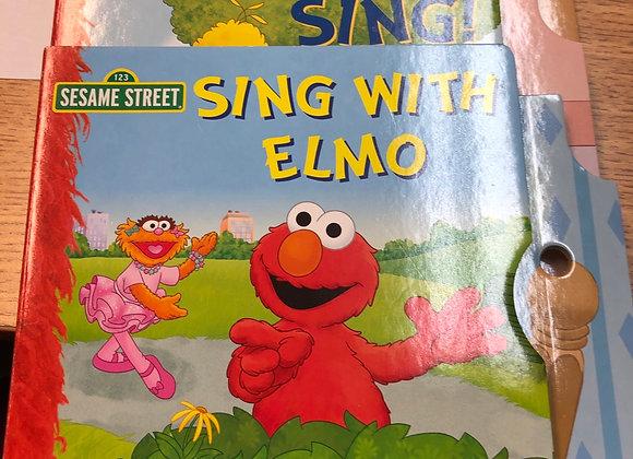 Elmo Audio Book Set