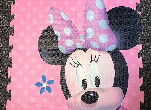 Minnie Mouse Foam Floor Mat