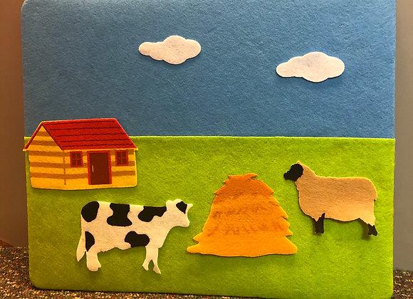 Felt Creation Puzzle: Farm