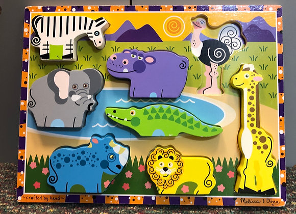 Chunky Jungle Animals