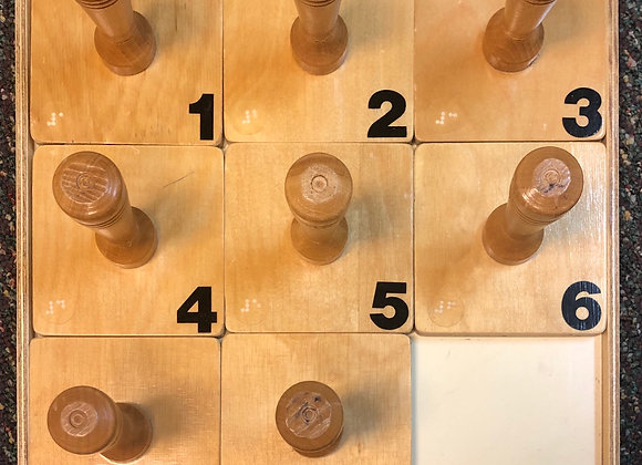Numbers Puzzle with Braille