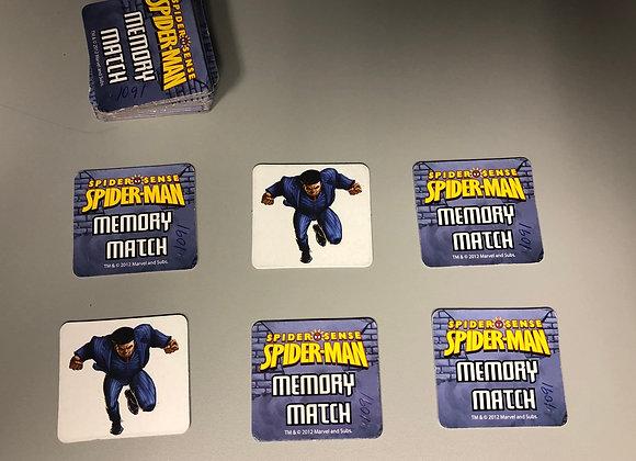 Spider Man Memory Match Game