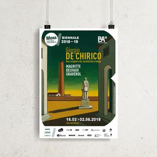 BAM / Exposition de Chirico