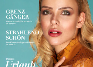 Cover Mai 2019 Beauty Forum Swiss