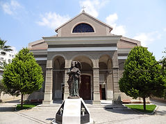 St. John's Catholic Church. İzmir Aziz Yuhanna Katolik Kilisesi