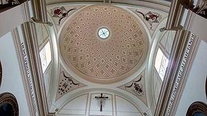 İzmir Aziz Yuhanna Katolik Kilisesi. St. John's Catholic Cathedral in Izmir