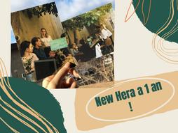 New Hera fête son 1er anniversaire !