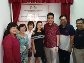 Congratulations to the Official Opening Ceremony of Paya Lebar Senior Activity Centre & Man Fut