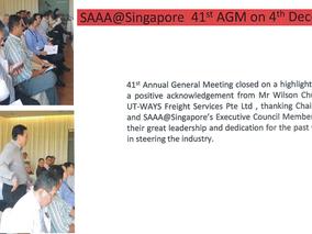 UT-WAYS on SAAA@Singapore Newsletter Jan - Mar 2015