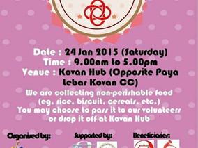 UT-WAYS supports Kovan City of Sharing 2015