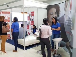 Hoy es el segundo día de ExpoKonzerta , la 1ra feria de empleo presencial en Atlapa