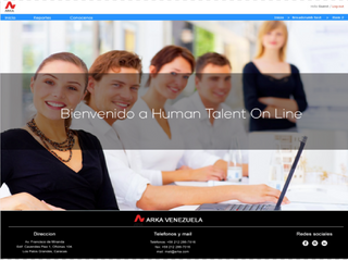 Arka Venezuela lanza su nuevo Portal Human Talent On-line Unidad PAYROLL