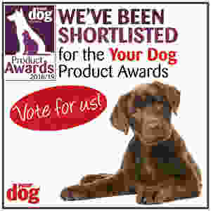 We've been shortlisted for the Your Dog Product Awards