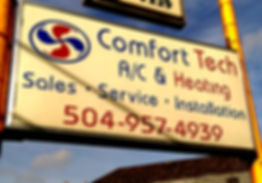 Comfort Tech A/C & Heating Sign