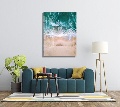 Deniz Temalı Cam Tablo