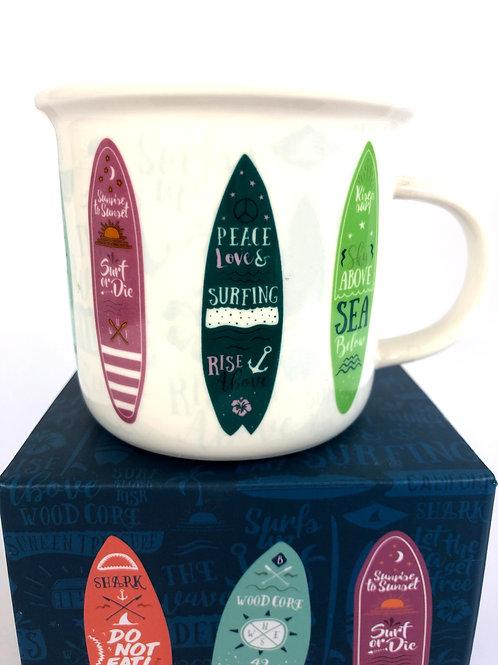Surf Board Mug