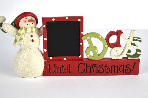 Chalkboard Countdown To Christmas