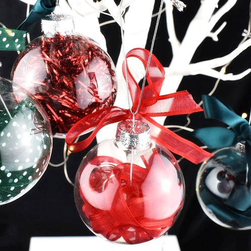 Starter Set of Christmas Baubles -Set of 4