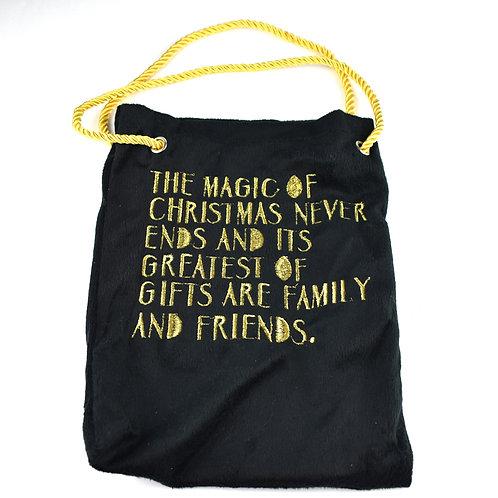 The Magic Of Christmas Gift Bag (fabric)