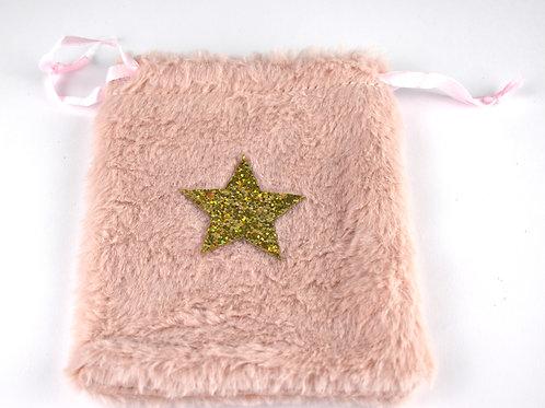 Pink Fluffy Star Bag