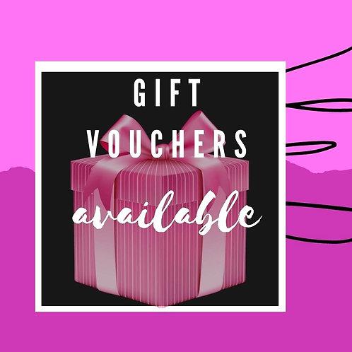 Gift Vouchers for Custom Wreath