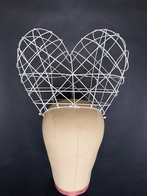 Heart Shaped Wig Cage Building & Styling