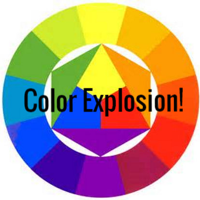 Color Explosion! Introduction to Color Theory