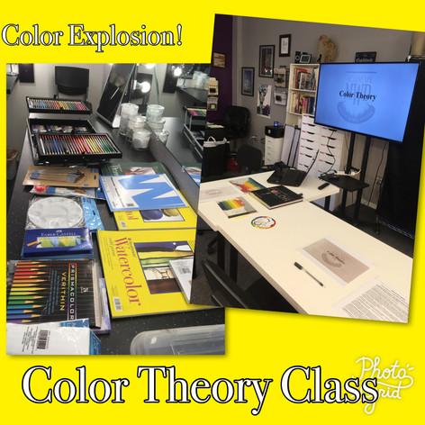 Color Theory Class Setup