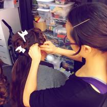 Long Hair Wig Preps