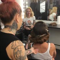 Rockwell DeVil Pinup Hair Workshop