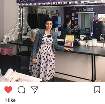Shoutout from our student on Instagram!