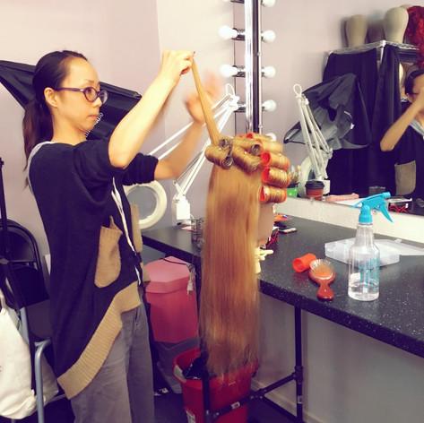 Wig Dressing Class