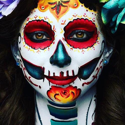 Sugar Skull Makeup Workshop NO KIT
