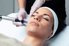 Shot of cosmetologist making mesotherapy