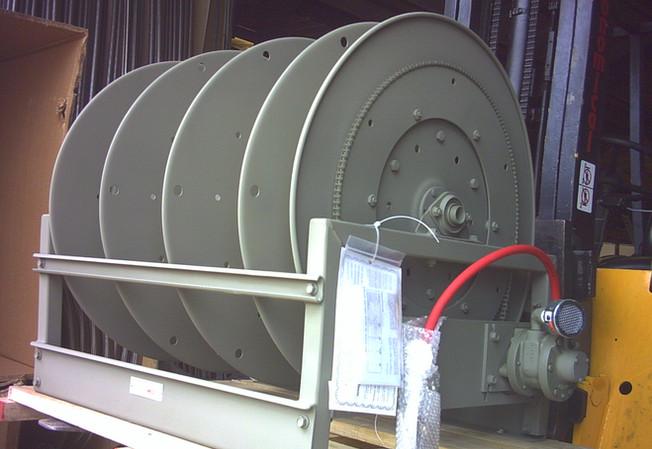Hannay bespoke C series storage reel (with 3 divider discs)