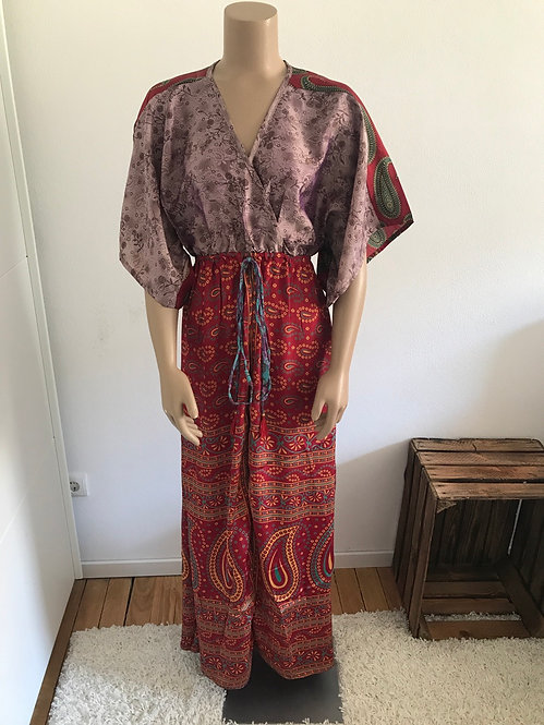"Kleid ""Lia""aus 4 Saris"