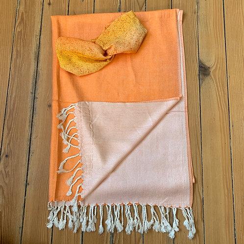 2-teiliges Set: Schal & Haarband