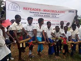refeades IANSA Global Week of Action Against Gun Violence 2019 Makobola DRC Congo