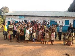 refeades children happy child friendly space Congo DRC Makobola orphans