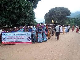 refeades IANSA 16 days of activism campaign against gender-based gun violence SDG 5.2 Makobola Congo DRC